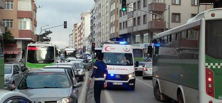 Ambulansların Gebze Çilesi
