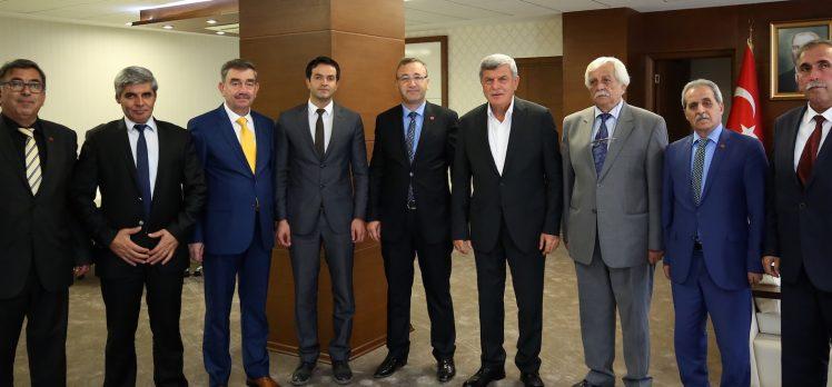 Başkan Karaosmanoğlu Darıcalı Muhtarlarla Buluştu