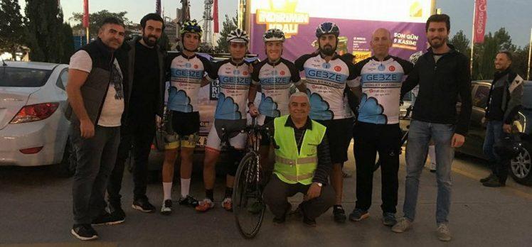 Gebze Bisiklet Kulübü Türkiye Rekorunu Kırdı