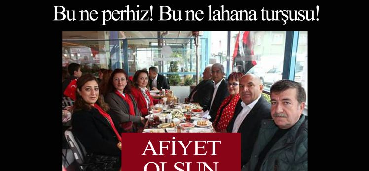 CHP'den Halktan Kopuk Kutlama!