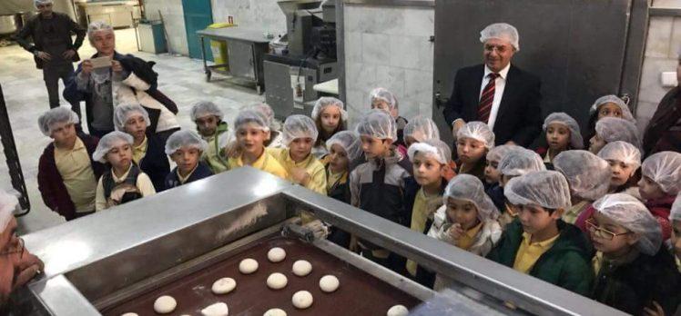 Öğrenciler Ekmeğin Nasıl Yapıldığını Öğrendi