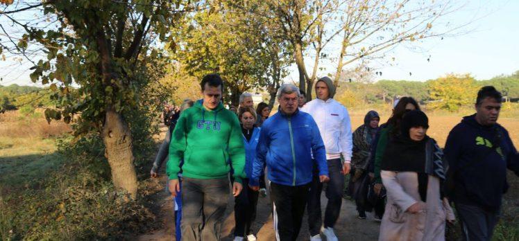 GTÜ'de Sağlıklı Yaşam Yürüyüşü
