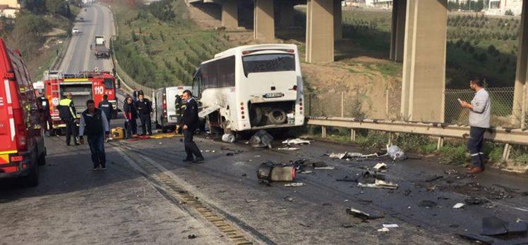 Gebze'de Zincirleme Trafik Kazası Can Aldı!