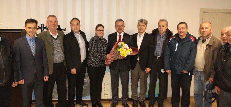 Balkan Türkleri ve Erzurumlular Köşker'e geldi