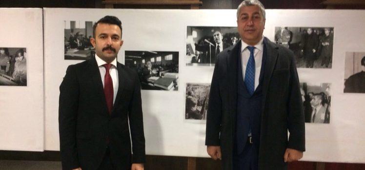 Ülkü Ocakları'ndan 'Başbuğ' Türkeş Özel Sergisi