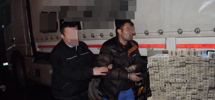 Gebze Polisinden, Sigara Kaçaklarına Suçüstü