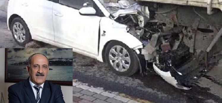 Sürücü Kursu Müdürü Hayatını Kaybetti!