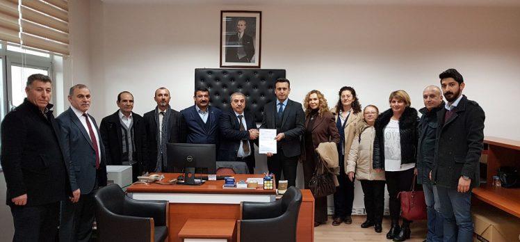 CHP Darıca İlçe Başkanı Mazbatasını Aldı