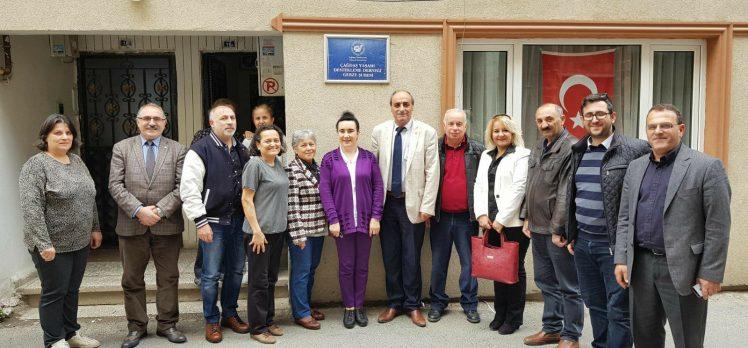 CHP Gebze'den ÇYDD ziyareti