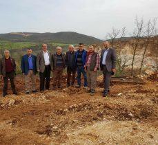 Köylüler taş ocağını CHP'ye şikayet etti