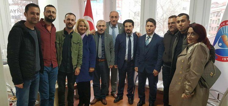 CHP Gebze'den eğitim iş sendikasına ziyaret