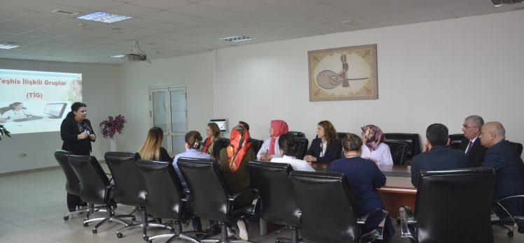 Farabi Devlet Hastanesi'nde TİG bilgilendirilmesi
