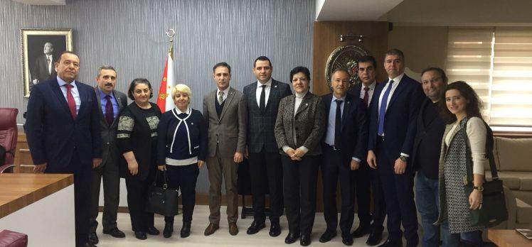 İYİ Parti yönetimi, resmi ziyaretlere başladı