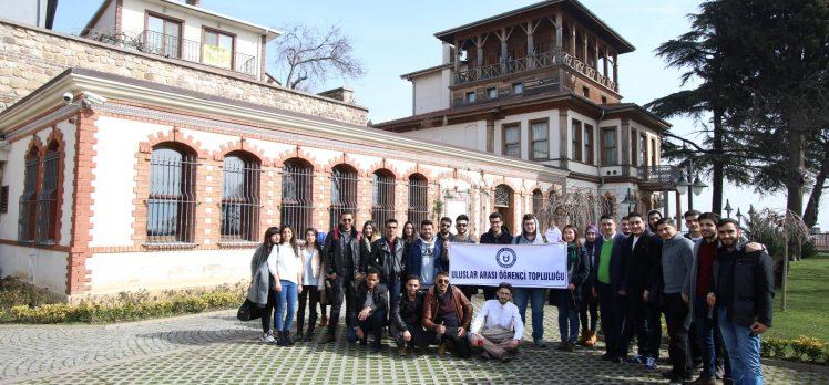 Uluslararası öğrenciler Gez Gör'le İzmit'i gezdi