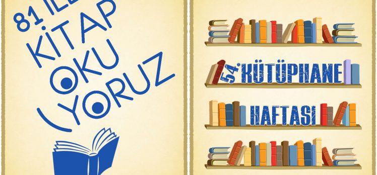 Kütüphane haftası kutlanacak!