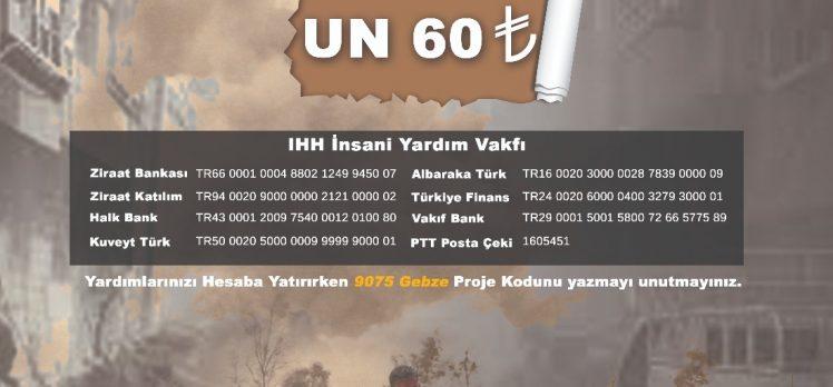 Gebze'den Doğu Guta'ya Yardım Kampanyası