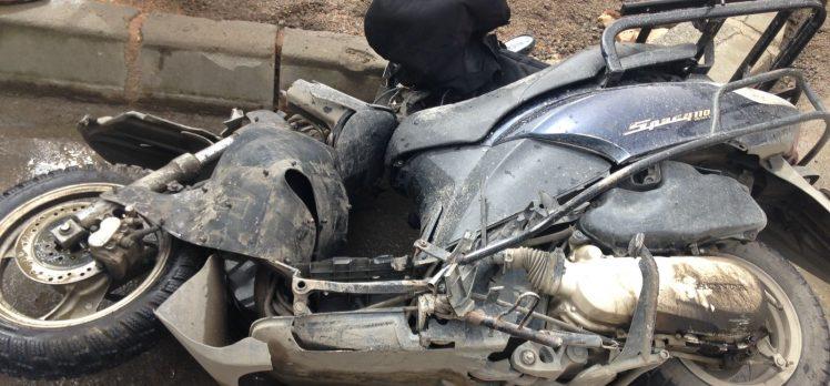 Sırasöğütler'de feci kaza: 1 ölü, 1 yaralı