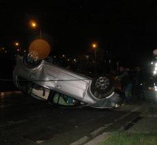 İstasyon Mahallesi'nde kaza: 4 yaralı