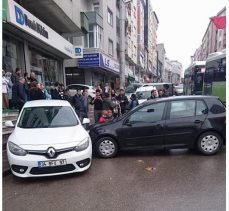 Aksesapağı'nda kaza: 1 yaralı