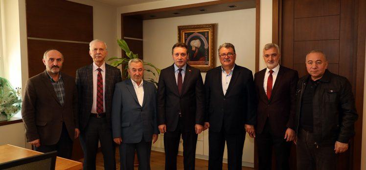 İlim Yayma Cemiyeti, Başkan Demirci'ye konuk oldu