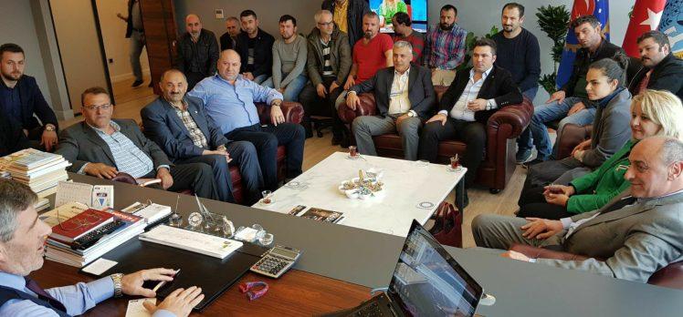 CHP Gebze'den Eğitim-Sen, Petrol-İş ve Hizmet-İş ziyaretleri