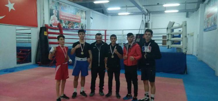 Liseler boks da Sevindik Spor 1 numara