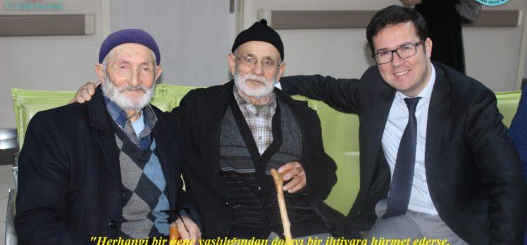 Başhekim Nalbant'tan Yaşlılara Saygı Haftası mesajı