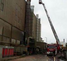 Balçık Mahallesinde fabrika yangını!