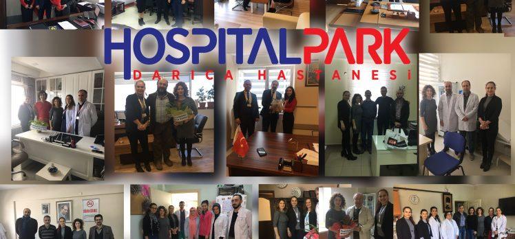 Hospitalpark'tan '14 Mart Tıp Bayramı' ziyaretleri
