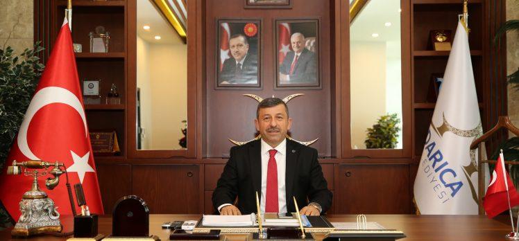 Karabacak'tan 23 Nisan kutlama mesajı