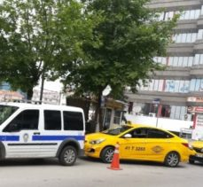 Taksiciler silahlı saldırıya uğradı!