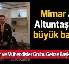 Ali Altuntaş'tan büyük başarı!