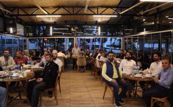 Mesaj Fm çalışanlarına iftar programı
