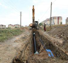 Çayırova'da altyapı çalışması