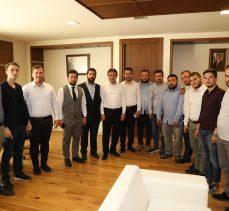 AK Gençlerden Demirci'ye ziyaret