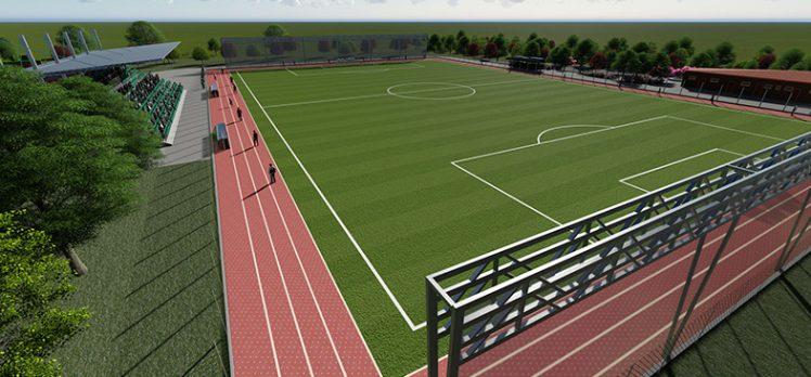 Futbol sahası için ilk adım atıldı