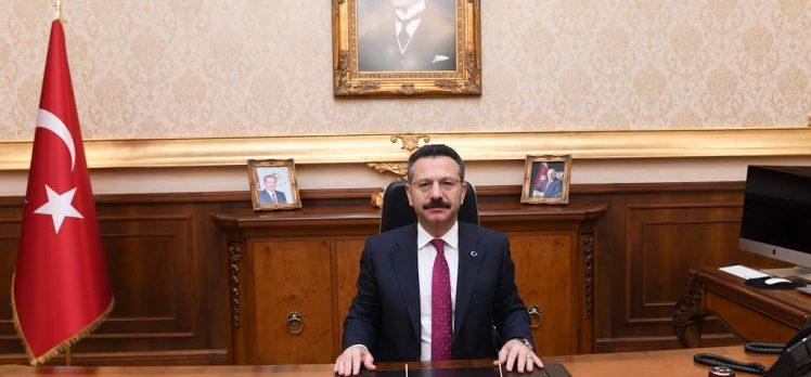 Vali Aksoy'dan başarı dilekleri