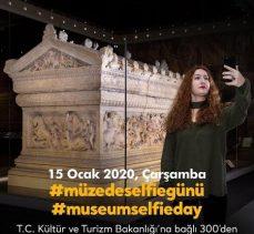 """Bakanlıktan """"Müzede Selfie Günü"""" yarışması"""