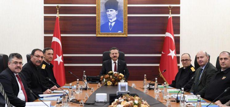 İl Güvenlik ve Asayiş kurulu toplantısı yapıldı