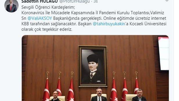 Büyükşehir'den eğitime ücretsiz internet!
