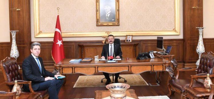 Başmüdür'den Vali Aksoy'a ziyaret