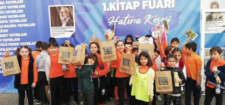 Darıcalı Çocuklar Kitap Fuarı'nı Çok Sevdi