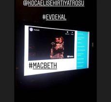 'Macbeth' evlere konuk oldu