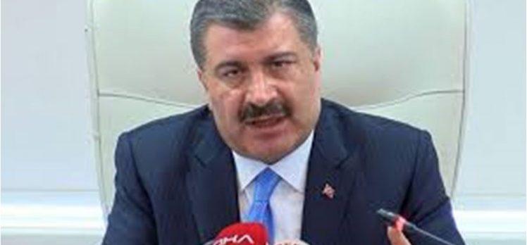 Sağlık Bakanı Koca,vaka sayısını açıkladı