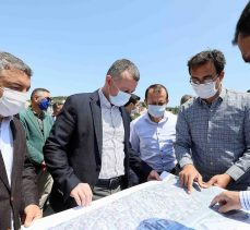 Büyükakın, Dilovası ve Darıca'daki Projeleri İnceledi