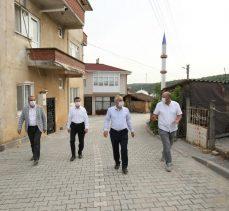Ovacık'ta Sokaklar Yenilendi