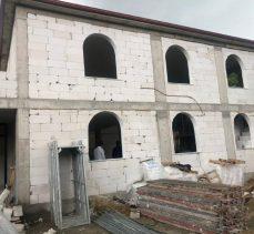 Şayir, Cami İnşaatını İnceledi