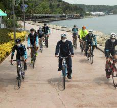 Gebzeli çocuklara Dünya Bisiklet Günü hediyesi