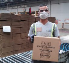 Olmuksan, Gebze'deki Aşevlerine 22 Bin 500 Kutu Bağışladı