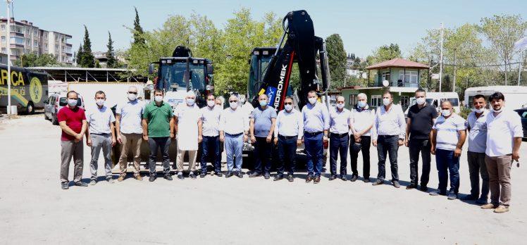 Darıca'da Araç Filosu Güçlendi